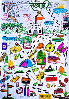 Doodle Trekking, Sahyadri, Chhatrapati Shivaji Maharaj