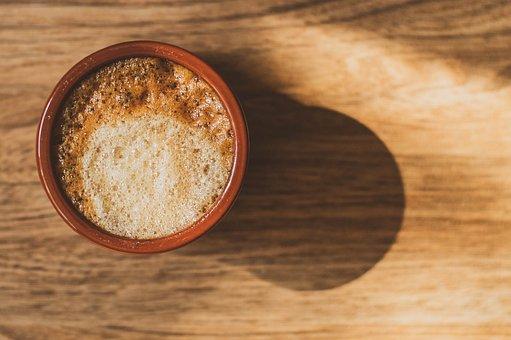 Caffe Latte, Close-Up, Daylight, Nature