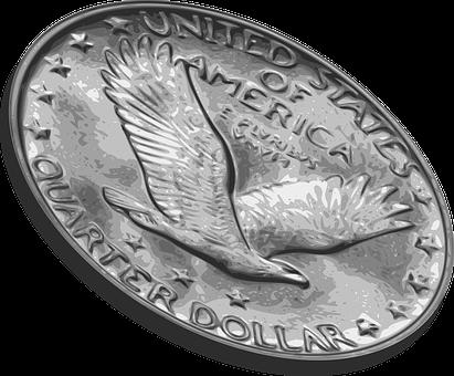 Quarter, Coin Flip, Flip, Chance, Money, Gamble