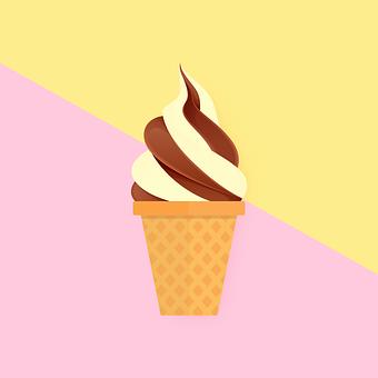 Summer, Food, Soft, Ice Cream, Chocolate
