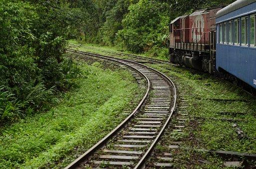 Train, Curitiba, Morretes, Atlantic Forest, Rails