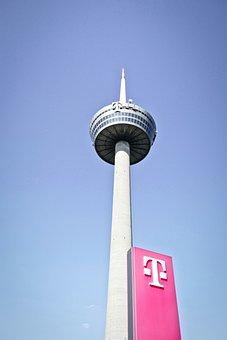 Tv Tower, Telekom, Radio Tower, Cologne, Colonius