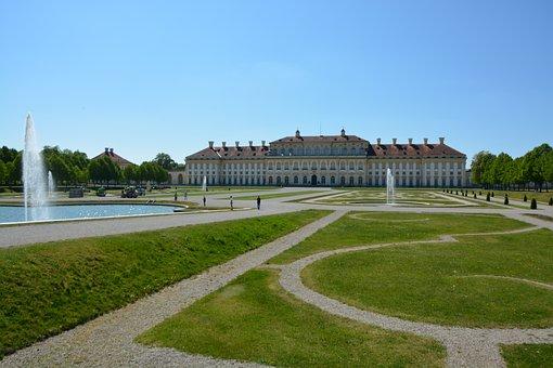 Palace, Munich, Castle, Shovel, Bavaria