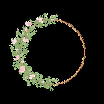 Border, Botanical, Bouquet, Branch