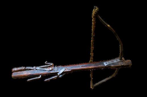 Crossbow, Medieval, Medieval Crossbow, Transparent