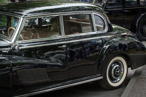 Mercedes, 300, Adenauer, Classic, Vehicle, Automotive
