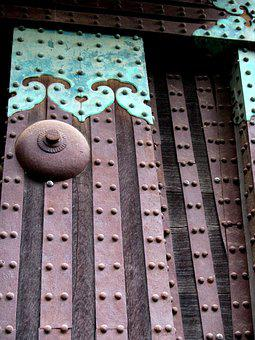 Ninjo-jo, Castle, Ornament, Architecture, Gate