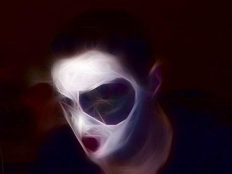 Clown, Ghosty, Scary, Dark, Ghost, Halloween, Creepy