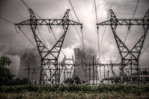 Central, Nuclear, Dampierre-en-burly, Energy, Loiret