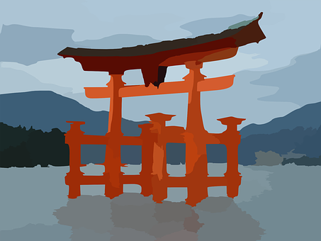 Japanese, Structure, Traditional, Oriental, Wooden