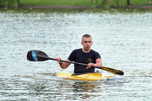 Boy, Young, Person, Male, Row, The Boat