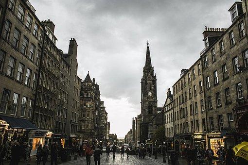 Royal Mile, Old Town, High Street, Edinburgh, Scotland