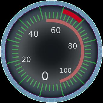Speedometer, Gauge, Dial, Scale, Digital, Speed, Meter