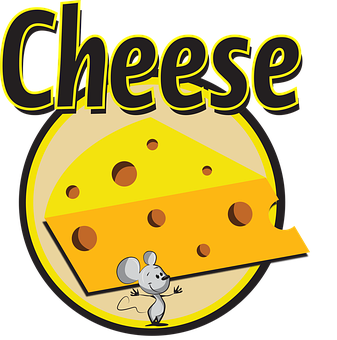 Cheese, Mouse, Text, Animal, Rodent, Cute, Food, Stolen