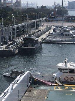 Ships, Offshore, Ocean, Port, Tug, Wind, Transport