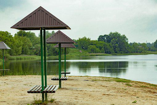 The City Of Klintsy, Lake Stadol, Water, Beach, Nature