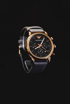 Watch, Emporio Armani, Armani, Dial, Clock, Watches