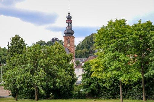 Church, Castle Church, Saarbrücken, Steeple