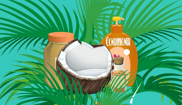 Coconut, Oil, Cosmetic, Cream, Lotion, Natural, Beauty