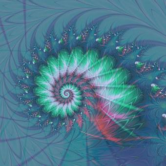 Fractal, Spiral, Geometry, Perception