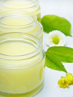Cream, Glass, Skin Care, Cosmetics, Natural Cosmetics