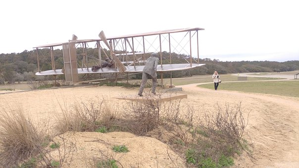 Wright Brothers, First In Flight, Kitty Hawk