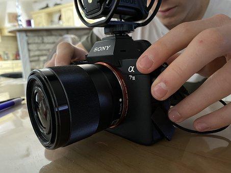 Photo, Capture, Sony, Camera