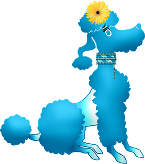 Poodle Silhouette, Dog, Puppy, Poodle, Silhouette