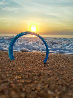 Sunrise, Sunset, Beach, Horizon