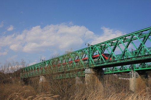 Korea, Railway, Transportation, Train