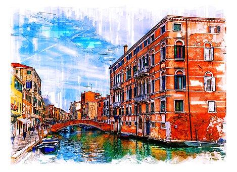 Venice Fondementa Dei Ormesini, Boat, Building, Canal