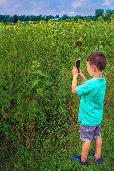 Boy, Young, Child, Kid, Photographer, Photo, Camera