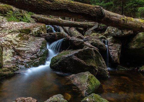 Long Exposure, Ilsetal, Ilse Falls, Landscape, Nature