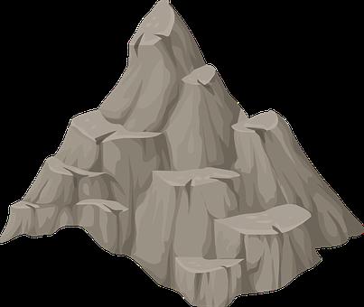 Mountain, Hill, Rock, Peak, Barren