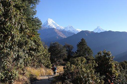 Nepal, Himalaya, Himalayas, Sky