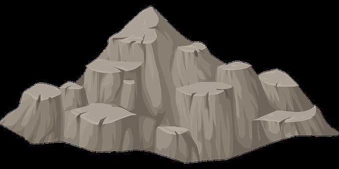 Mountain, Hill, View, Peak, Rock, Barren