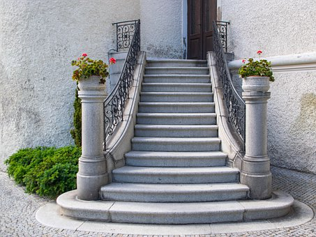 Staircase, Stairs, Architecture, Outdoor, Historically