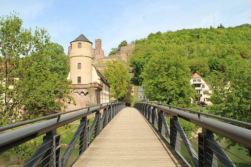 Wertheim, City Administration, Castle, Bridge, Tauber