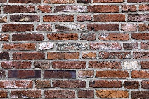 Bricks, Wall, Red Clinker, Rich Clinker, Red Brick