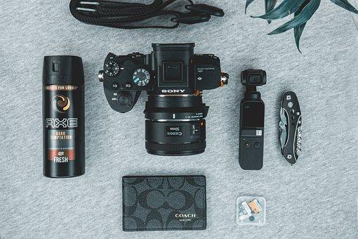 Camera, Sony, Alpha, Device