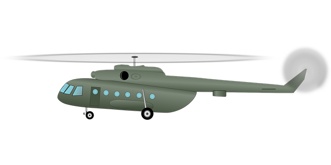 Helicopter, Chopper, Army, Transport, Vehicle, Air