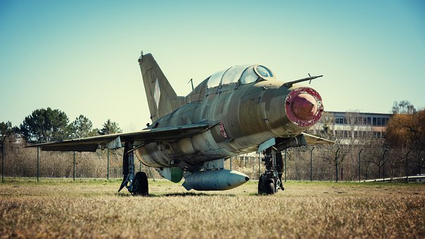 Aircraft, Fighter Jet, Mig-19, Jet, Military