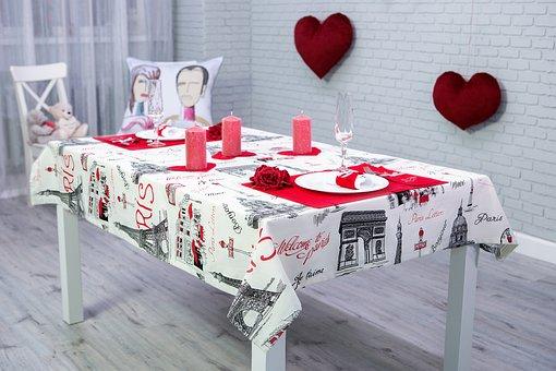 Napkin, Table, Elegant, Ornament