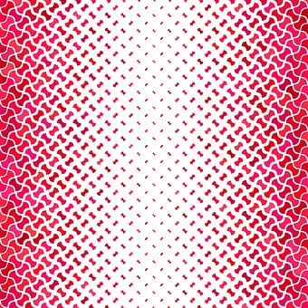 Background, Curved, Geometric, Design, Swatch, Puzzle