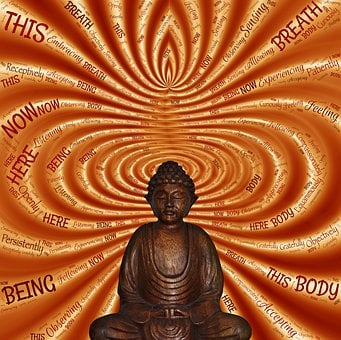 Sitting, Meditate, Being, Here, Now