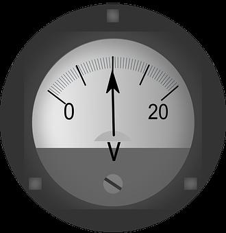 Voltmeter, Ac-dc, Electric, Current, Measurement