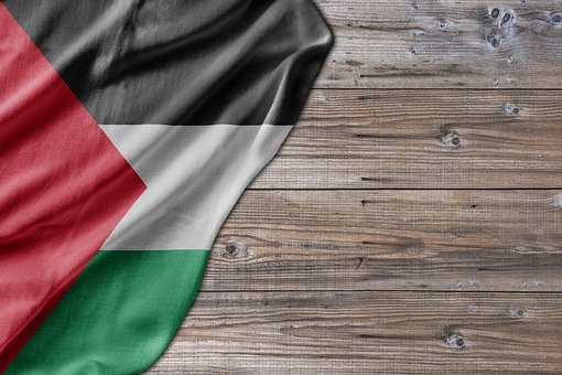 Flag, Wood, Palestine, Country, Red, Travel, Mail
