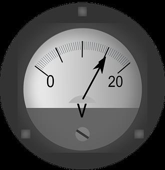 Voltmeter, Ac-Dc, Electric, Current