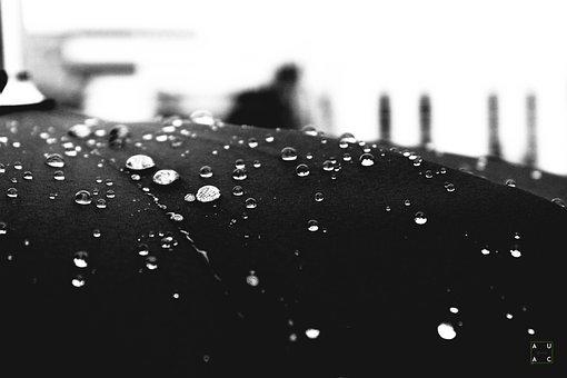 Water, Umbrella, Rain, Wet, Beach, Holiday, Background