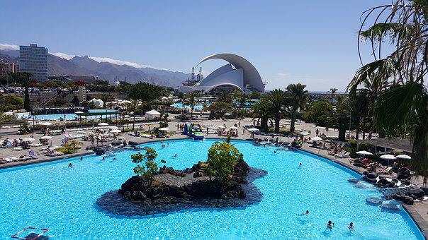 Swimming Pools, Tenerife, Auditorium, Santa Cruz